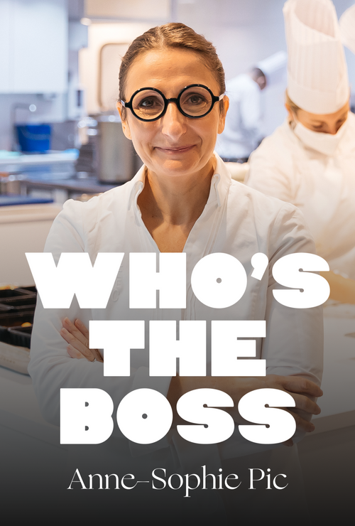 Who's the boss : Anne-Sophie Pic