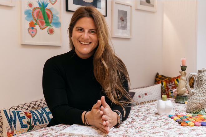 A day with: Alexandra Van Houtte