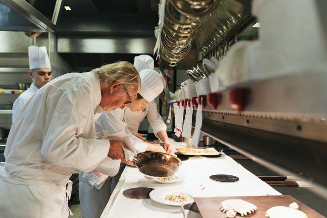 Pierre Gagnaire: Michelin-starred chef